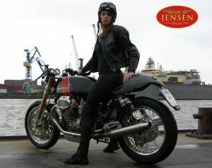 Moto Guzzi Cafe Racer von Doc Jensen