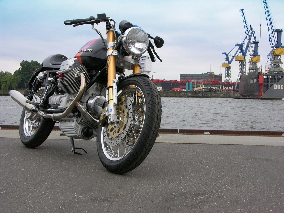 racer vorm doc startseite guzzi custom customized by doc jensen moto