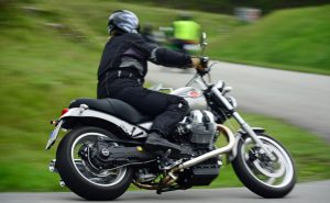 Kurventraining Moto Guzzi Bellagio