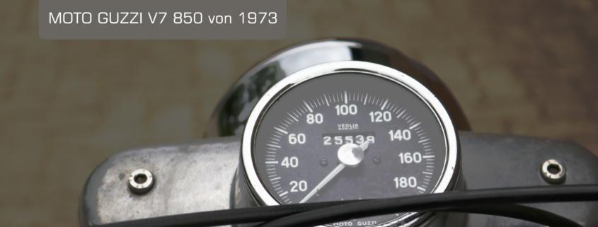 Moto Guzzi V7 by Doc Jensen