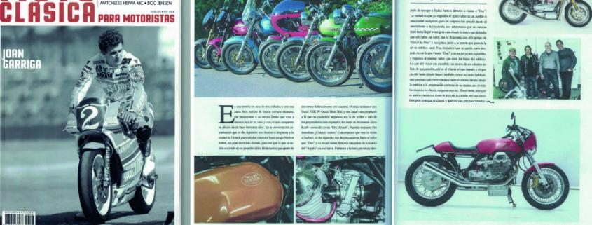 Moto Clasica Artikel ueber Doc Jensen Guzzi