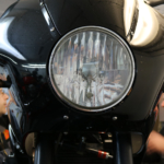 Motorradwerkstatt