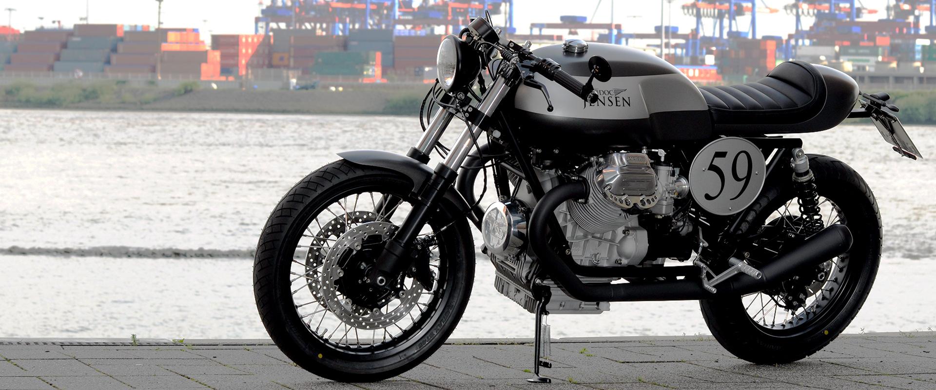 Doc Jensen Moto Guzzi Custom Freie Motorradwerkstatt Doc