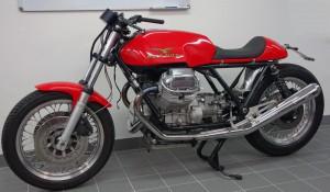 Moto Guzzi Cafe Racer Projekt