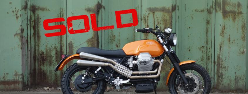 Moto Guzzi Scrambler 1100 verkauft