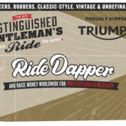 Distinguished Gentleman`s Ride