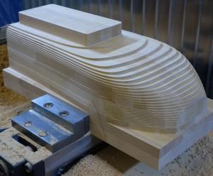 Holzbearbeitung Sitzbank