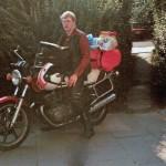 1985_Aufbruch nach Norwegen YamahaXS500 BJ1976 001