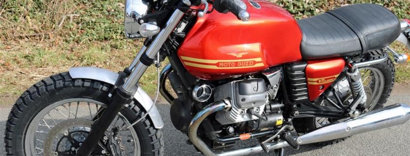 Moto Guzzi V7 Classic Customizing
